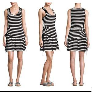Derek Lam 10 Crosby striped terry cloth minidress